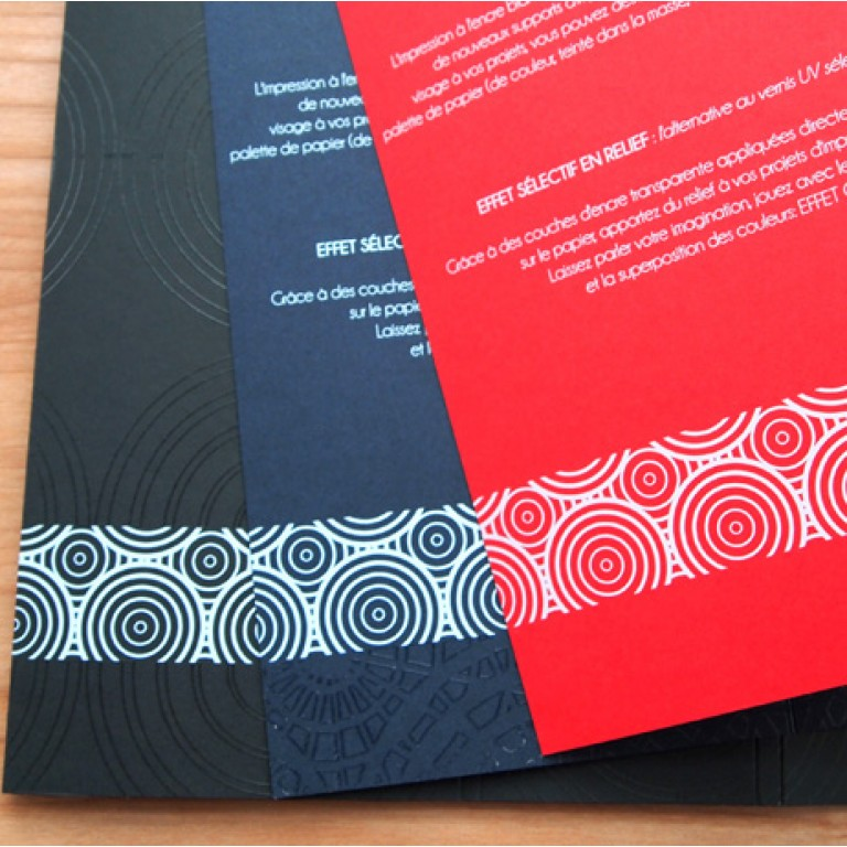 flyer papier offset couleur impression encre blanche pas cher. Black Bedroom Furniture Sets. Home Design Ideas