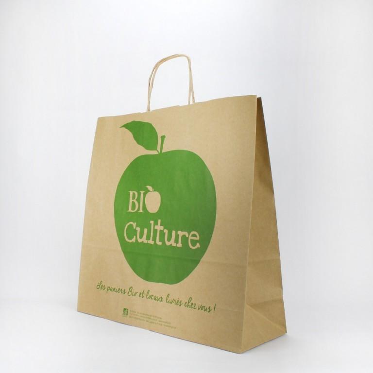 impression sur sac en papier sac papier recyclable pas cher. Black Bedroom Furniture Sets. Home Design Ideas