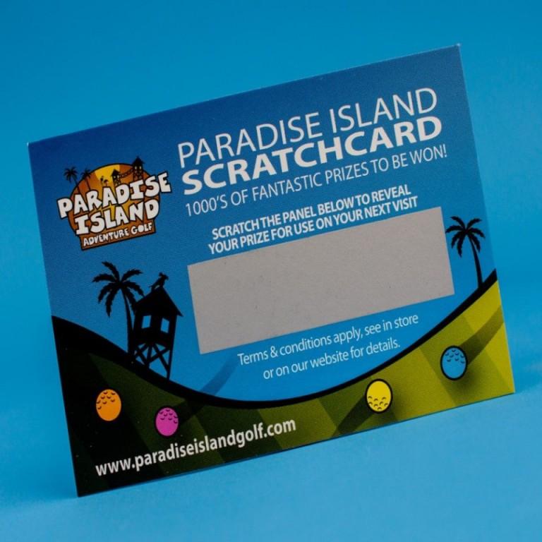 Impression Tickets A Gratter Carte Publicitaire