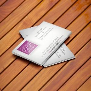 Carte commerciale 82x128 mm