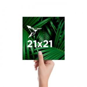 Flyer 21x21 cm