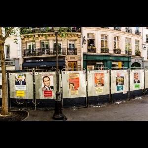 Affiche pour élection