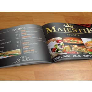 Menu en 8 ou 12 pages