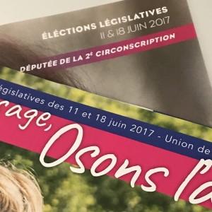Impression circulaires élections