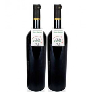 Impression collerette pour bouteille de vin