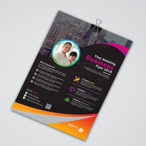 Impression A3 flyer pas cher