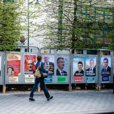 "Affiche Eco ""Elections"""