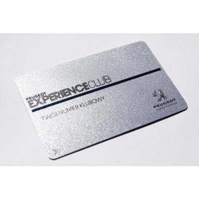 Carte PVC Finition Luxe