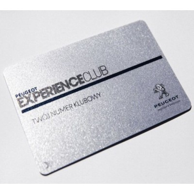 Carte PVC Finition Luxe