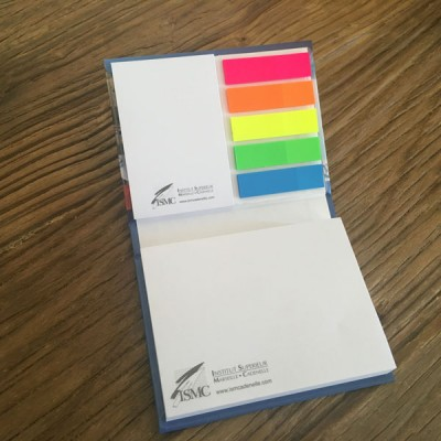 Bloc Post'it avec couverture