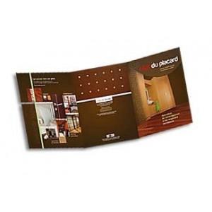 impression d pliant pas chers d pliants 3 volets 63x30. Black Bedroom Furniture Sets. Home Design Ideas