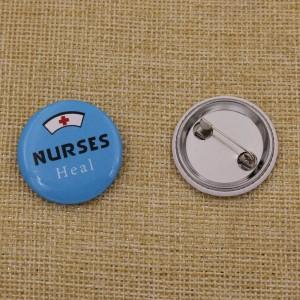 badge bouton personnalisé