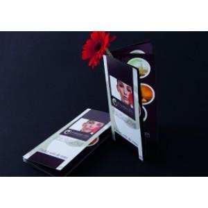 Imprimerie Brochures quadri 10x21 sans couverture