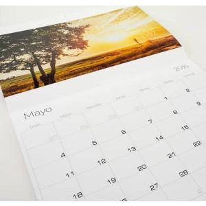imprimer un calendrier agrafé