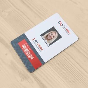 Impression de cartes de visite PVC souple