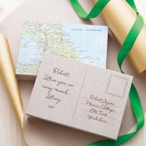 Impression de cartes postales invitations 1er éco