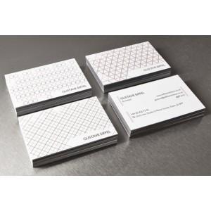 impression cartes de visite papier texturé