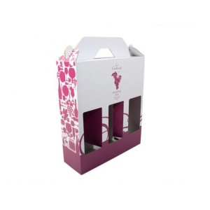 boite carton pour bouteilles