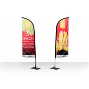 drapeau aile publicitaire imprimes