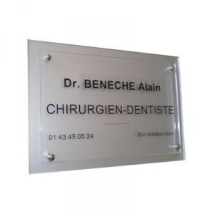gravure de plaques transparent